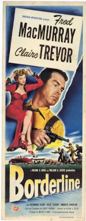 Borderline 1950 DVD - Fred MacMurray / Claire Trevor
